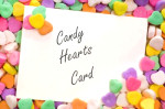 candy hearts greeting card message valentines day