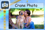 crane photo advertisement sign picture