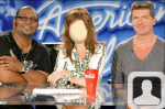 American Idol Judges Face in Hole