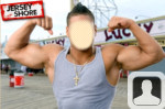 Jersey Shore Ronnie Face in Hole