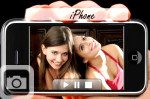 show off your photo on an iphone