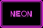 neon lights sign