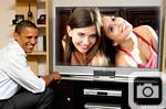 Obama TV Frame