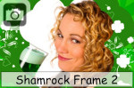 shamrock frame pictures photos clovers st patricks day