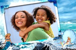 aquatic photo frame