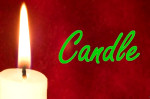 candle holiday christmas newyears