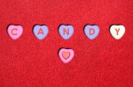 candy hearts valentines day