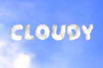 cloudy clouds sky writing puffy