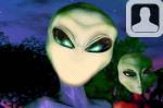 Alien Face In Hole