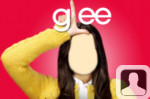 Glee Rachel Face In Hole
