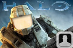 Halo Master Chief Face In Hole