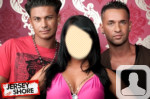 Jersey Shore Angelina Face in Hole