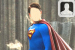 Superman Returns Face in Hole