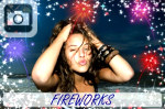 Make pictures exciting with fireworks for the 4th of July