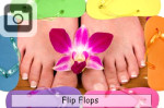 flipflops shoes summertime slippers