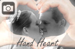 hands shaped heart love