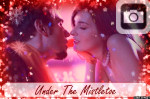 holiday stars sparkles glittery snow red christmas new years eve