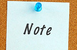 postitnote thumbtack messages corkboard reminders