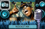 rockstar rock and roll music singer singing american idol band lyrics stage speakers microphone