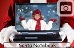 Christmas Santa Claus Notebook