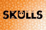 halloween skulls skeletons