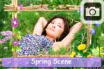 Spring Scene Photo Frame